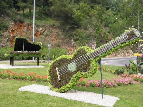Art-du-jardin guitare