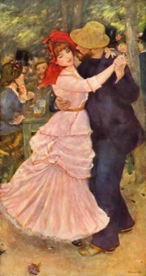 "Pierre-Auguste Renoir, ""La Danse à Bougival"""