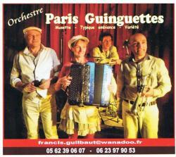 Paris guinguettes